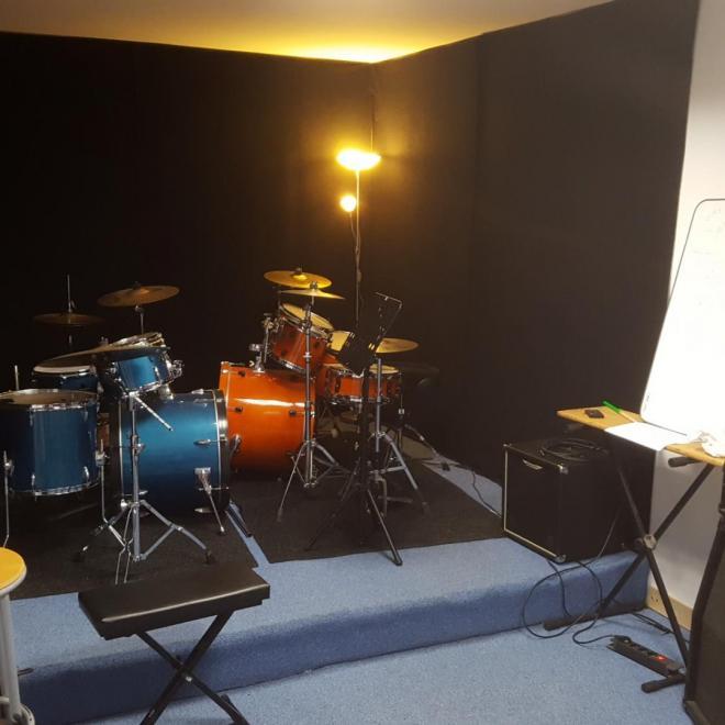 Salle batterie